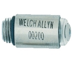 Welch Allyn 2.5 V Replacement Vacuum Lamp For Transilluminator. (Box Of 6)