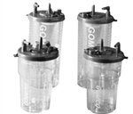 Gomco Disposable Suction Canisters - 2100 ml and 1100 ml