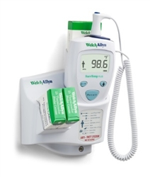 Welch Allyn SureTemp® Plus 690 Electronic Thermometer - Rectal Probe w/ 4 ft Cord, Rectal Probe Well, Wall Mount