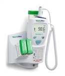 Welch Allyn SureTemp® Plus 690 Electronic Thermometer - Oral Probe w/ 4 foot cord, Oral Probe Well, Wall Mount