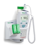 Welch Allyn SureTemp® Plus 690 Electronic Thermometer - Oral Probe w/ 9 ft Cord, Oral Probe Well and Rolling Stand