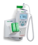 Welch Allyn SureTemp® Plus 692 Electronic Thermometer - Oral Probe w/ 4 ft Cord, Oral Probe Well, Wall Mount and Security System