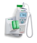 Welch Allyn SureTemp® Plus 692 Electronic Thermometer - Oral Probe w/ 9 ft Cord, Oral Probe Well, Rolling Stand and Security System