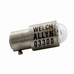 Welch Allyn 2.5V Replacement Halogen Lamp for Ophthalmoscopes