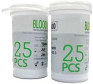 Rapid Response Blood Glucose 2 Vials of 25 strips + Code Chip
