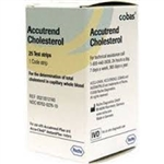Roche Accutrend Cholesterol Test Strips (25/bx)