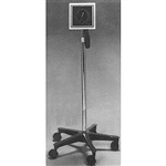 "Sklar Aneroid Sphygmomanometer Mounted on an Adjustable (44"" - 60"") Hi-Lo Stand"