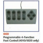 UMF 4 Function Programmable Foot Control, 5020 and 4010