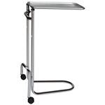 Blickman 1510 Double Pole Chrome Mayo Stand