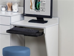 Clinton Computer Station Wall Mount Desk