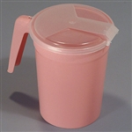 Sklar 32 oz. Pitcher with Attached Cover Non-Sterile - Case of 50