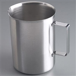 "Sklar 6-7/8"" x 8-7/8"" Pitcher/Beaker 4000ml, with Closed Handle"