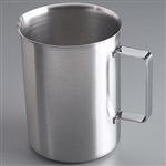 "Sklar 5 1/16"" x 6 5/8"" Pitcher/Beaker With Handle 2000 ml - Pack of 12"