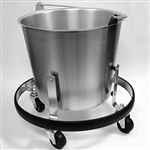 Sklar Kick Bucket with Rolling Stand 13 qt.