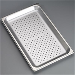 "Sklar Perforated Trays - 20 3/4"" x 12 3/4"" x 2 1/2"""