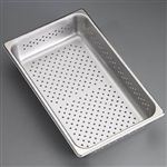 "Sklar 10"" x 6-1/2"" x 2"" Perforated Tray High Side"
