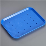 Sklar Plastic Procedure Tray, Perforated - Pack of 6