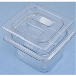"Sklar Clear Plastic Instrument Soaking Tray, 4"", Deep 3 Piece Set"