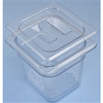 "Sklar Clear Plastic Instrument Soaking Tray, 6"", Deep 3 Piece Set"