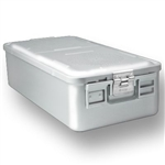 Sklar SklarLite Full Size Sterilization Container Safe Model  - Silver (Non Perforated)