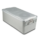 Sklar SklarLite Sterilization Full Size Container - Silver (Non Perforated)