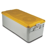 Sklar SklarLite Sterilization Full Size Container - Yellow (Non Perforated)