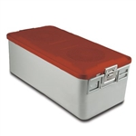 Sklar SklarLite Sterilization Full Size Container - Red (Non Perforated)