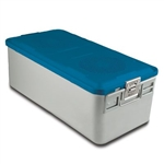 Sklar SklarLite Sterilization Full Size Container - Blue (Non Perforated)