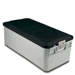 Sklar SklarLite Sterilization Full Size Container - Black (Non Perforated)