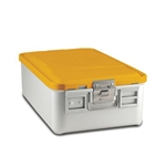 Sklar SklarLite Mid Size Sterilization Container Safe Model Yellow Non Perforated