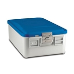 Sklar SklarLite Mid Size Sterilization Container Safe Model Blue Non Perforated