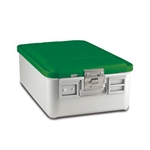 Sklar SklarLite Mid Size Sterilization Container Safe Model Green Non Perforated