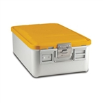 Sklar SklarLite Mid Size Sterilization Container Safe Model Yellow Perforated