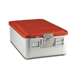 Sklar SklarLite Mid Size Sterilization Container Safe Model Red Perforated