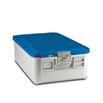 Sklar SklarLite Mid Size Sterilization Container Safe Model Blue Perforated