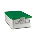 Sklar SklarLite Mid Size Sterilization Container Safe Model Green Perforated