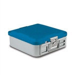 Sklar SklarLite Half Size Sterilization Container Safe Model Perforated (Blue)