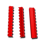 "Sklar Silicone Instrument Holder for Cassettes with Detachable Lid 5"" (Red)"