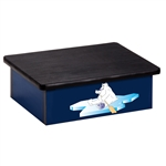 Cool Pals Polar Bear Blue Laminate Step Stool