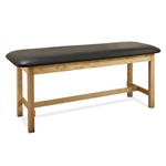 Clinton Flat Top Classic Series Straight Line Treatment Table
