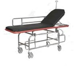 Gendron MRI Non-Magnetic Transport Stretcher with Fowler Back Rest