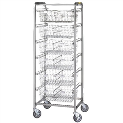 R&B Six Basket Resident Item Cart