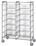 R&B Twelve Basket Resident Item Cart