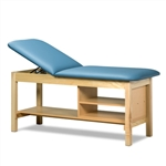 Clinton Classic Series Treatment Table with Shelving