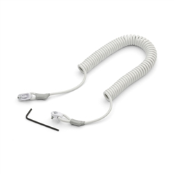Welch Allyn PRO6000 9 ft Cord with Security Tether