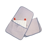 "Relief Pak HotSpot Moist Heat Pack Cover - Terry with Foam-Fill - Oversize with pocket - 24.5"" x 36"""