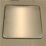 "Ohaus Replacement Scale Tray for Explorer Balance E1B120 6"" X 6"""