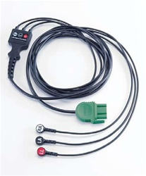 LifePak 1000 3-Wire ECG Cable (Lead II)