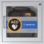 AED Wall Cabinet with Alarm, Fire Rated