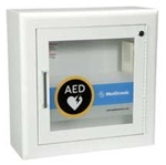 AED Wall Cabinet with Alarm and Strobe